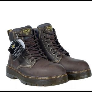 NEW Dr. Martens Airwair Steel Toe Safety Boots